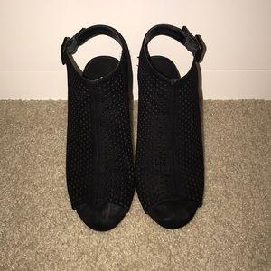 Madden girl peep toe sling back